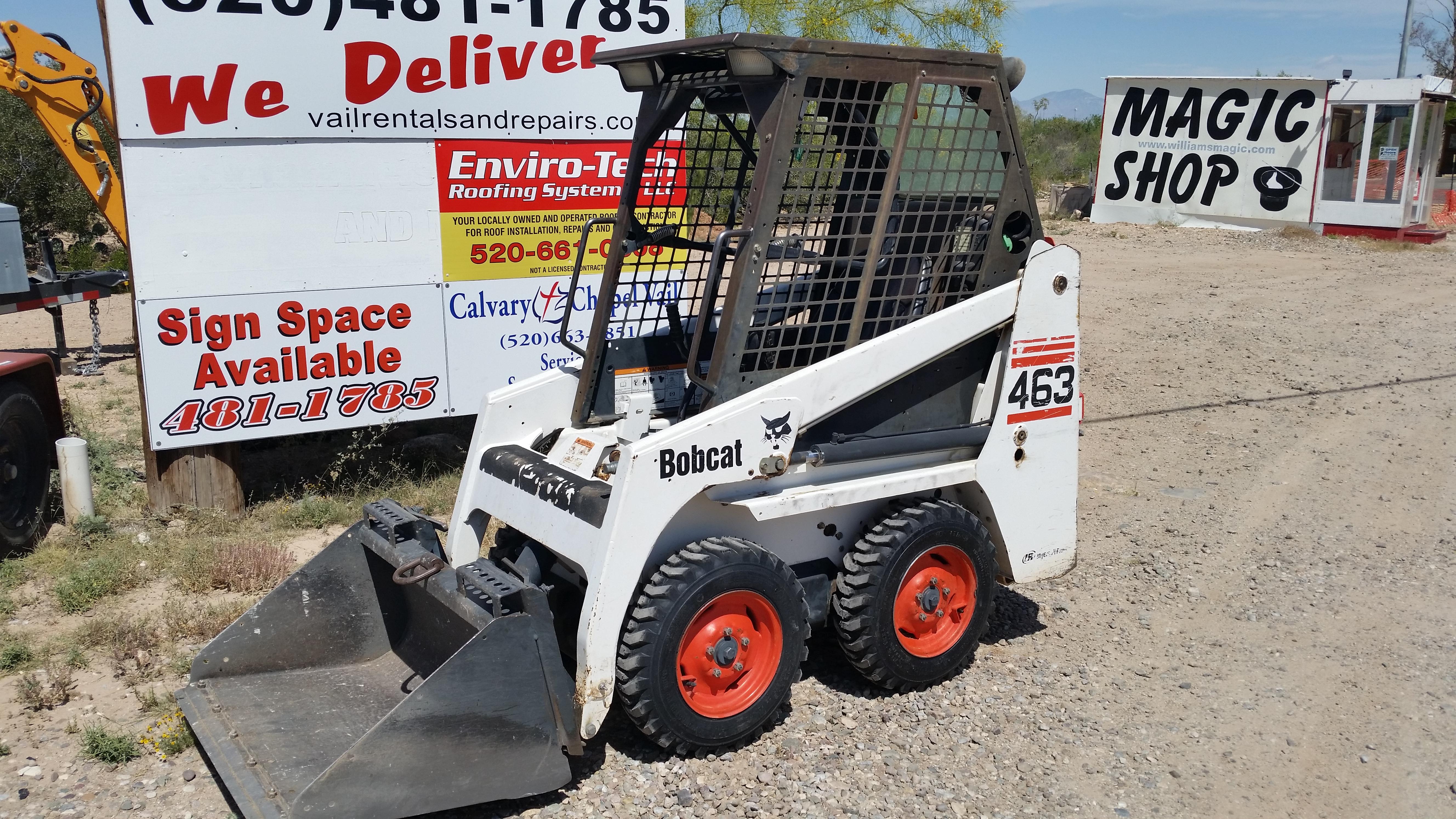 Bobcat Rentals Tucson
