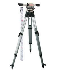 Survey Equipment w/Tripod & Measuring stick Image
