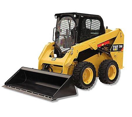 Cat 236 Skidsteer 72 Image