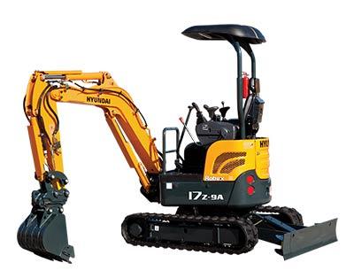 Mini Excavator 17Z-9 Image