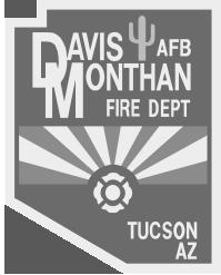 logo for Davis Monthan Fire Dept