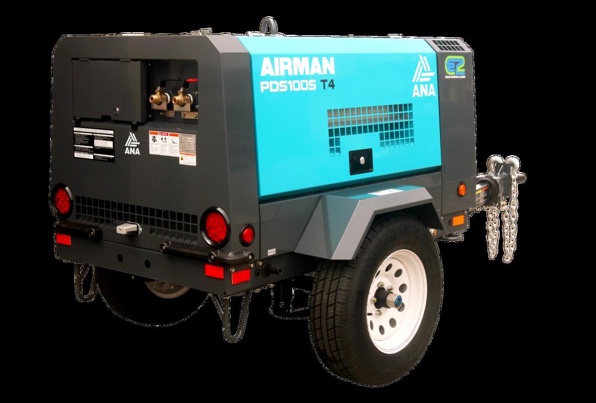 Air Compressor CFM 110 Diesel Image